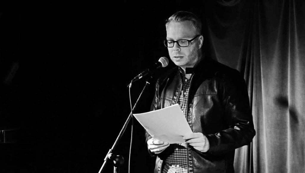 Marcus Mötz liest auf Lesebühne aus Romanmanuskript