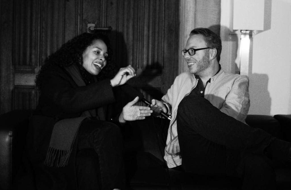 Marcus Mötz mit Joy Denalane im Interview
